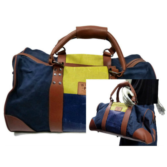 c763eb9d4 Will Leather Goods Duffle Bag Blue Canvas Nike. M_5bed063de944baadb9eb1350